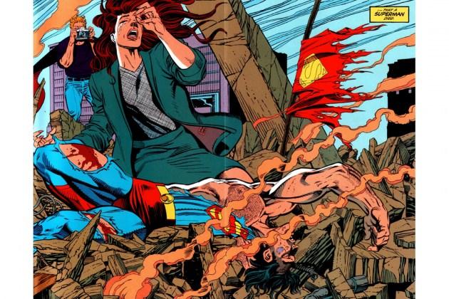 The Death of Superman, DC Comics