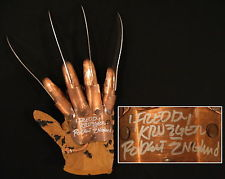 I even took his knives http://www.ebay.com/bhp/robert-englund-signed