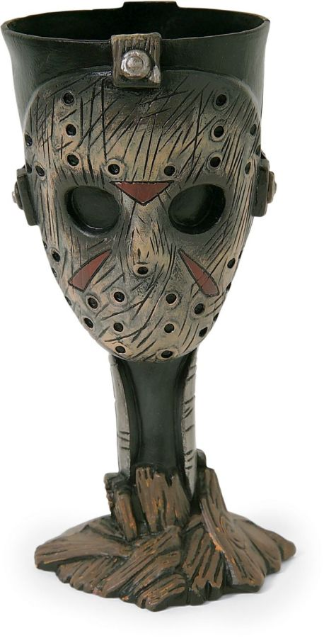 Yes.  http://www.monstersinmotion.com/cart/horror-contemporary-item-listj-c-16_223/friday-the-13th-jason-goblet-p-16433