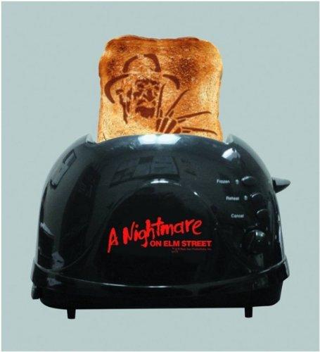 3...4...Freddy's toasted for you https://www.amazon.com/Nightmare-Elm-Street-Krueger-Toaster/dp/B00H731EOE