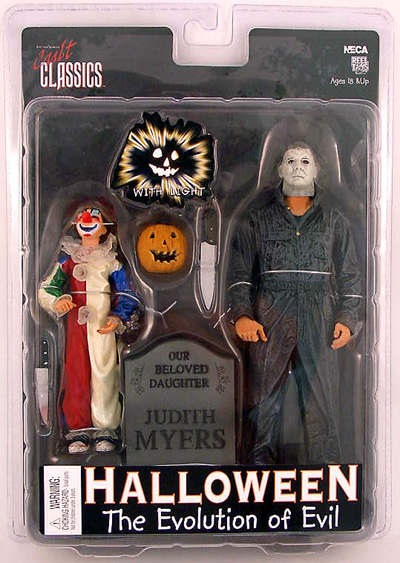 They grow up so fast! http://www.cmdstore.com/neca-halloween-action-figures-michael-myers-evolution-of-evil-2-pack.html