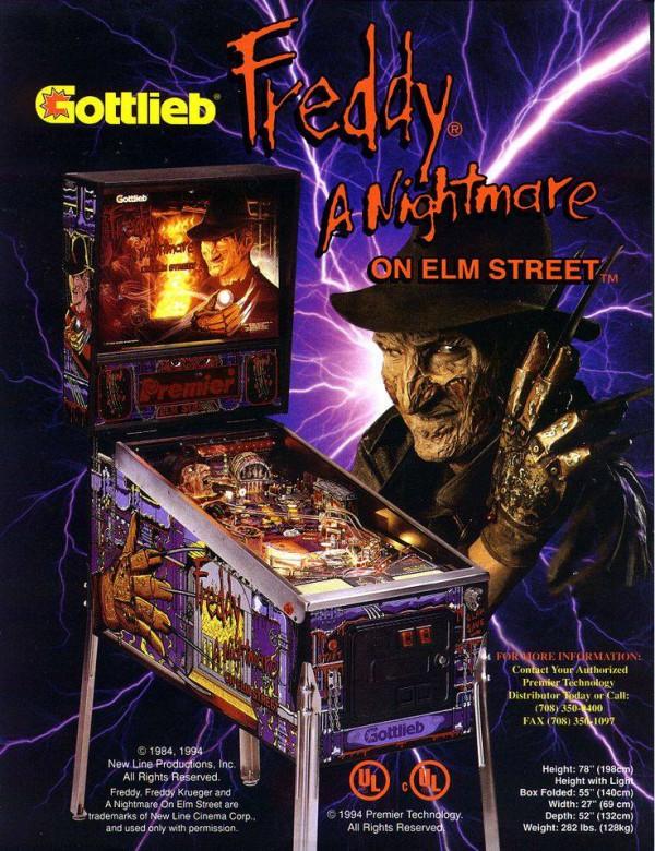 Tina, you're really bustin' my balls here http://www.ebay.co.uk/itm/Gottlieb-FREDDY-A-NIGHTMARE-ON-ELM-STREET-Classic-Arcade-Pinball-Machine-/301878421286