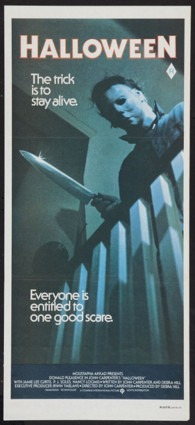 I would give you your own room. https://knoji.com/ten-valuable-halloween-1978-movie-posters-collectibles