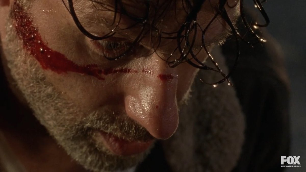 Rick and Negan Go Head to Head in New Walking DeadClip